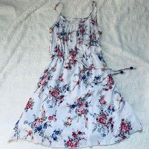 Poetry White floral spaghetti strap dress